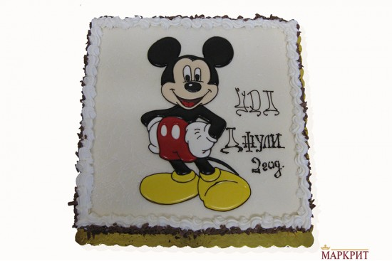 Торта Мики Маус 1