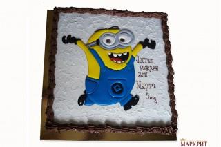 Торта Миньоните 1