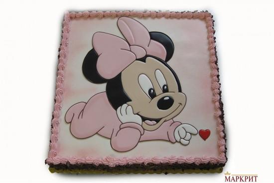 Торта Мини Маус 1